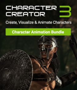 Character Creator 3- Character Animation Bundle