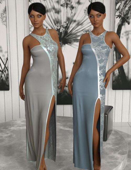 InStyle - JMR Charme - dForce Dress for G3F and G8F