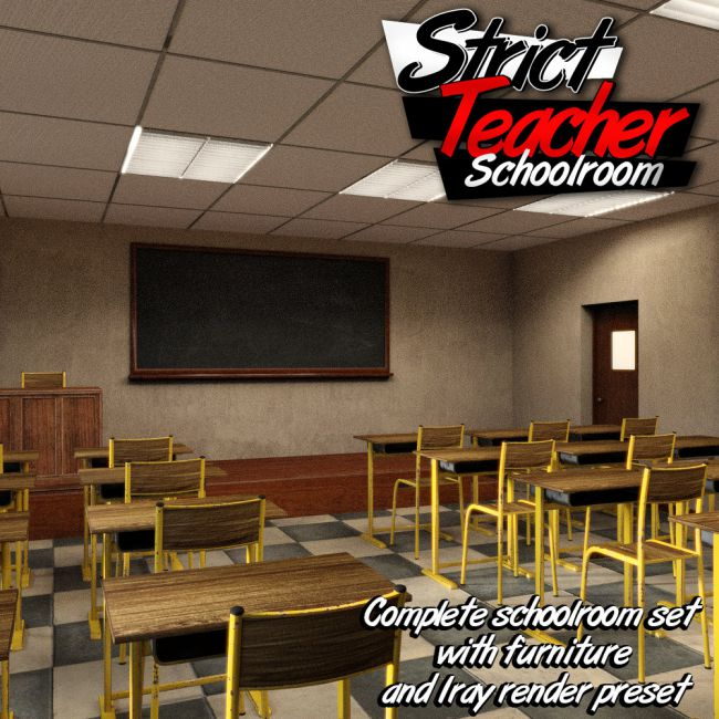 Strict Teacher - SCHOOLROOM