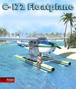 C-172 Floatplane for Poser