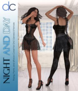 DC-Night and Day for DAZ G8 Female