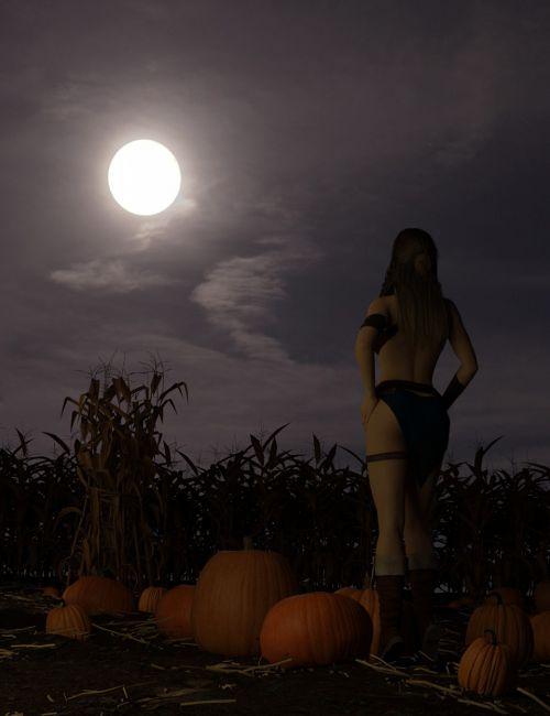 Orestes Iray HDRI Skydomes - Harvest Moon