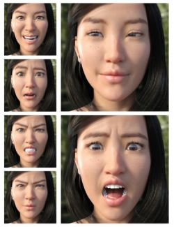 All of the Feelings - Expressions for Mei Lin 8