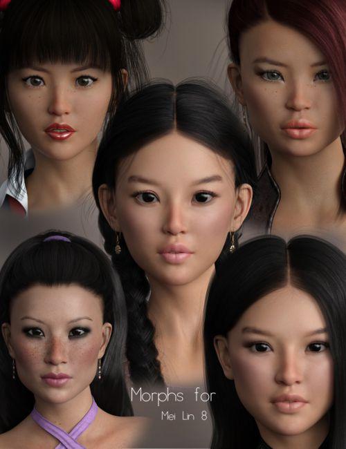 P3D Mei Lin 8 Morphs