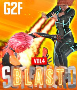 SuperHero Blast for G2F Volume 4