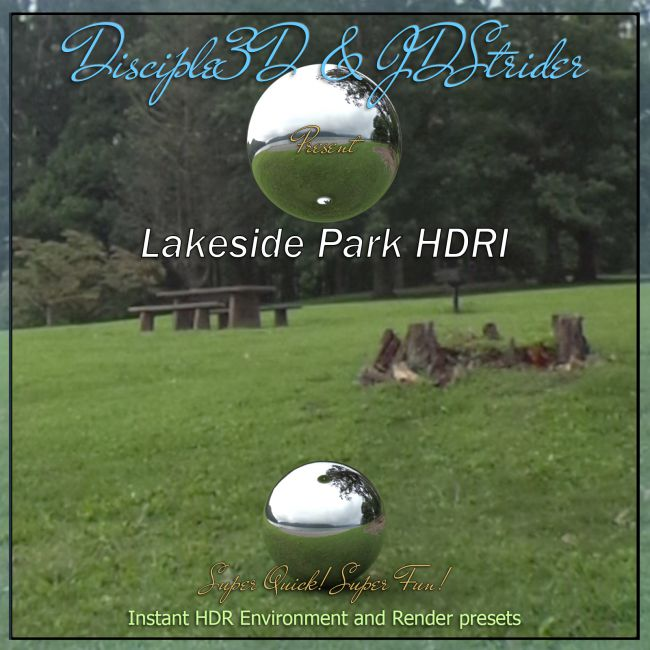 Disciple3D - Lakeside Park HDRI