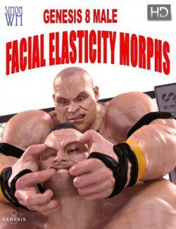 Genesis 8 Male Facial Elasticity Morphs