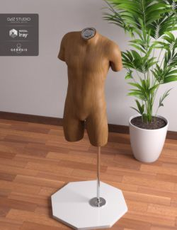 Mannequin Kit for Genesis 8 Male