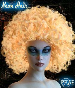 Prae-Neon Hair G3 G8 Daz