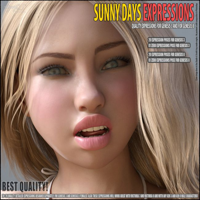 Sunny Days - Expressions for G8, V8, G3 and V7