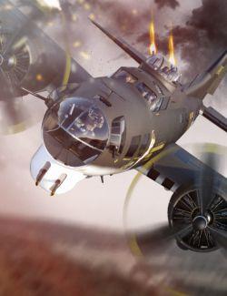 Flying Fortress Warplane