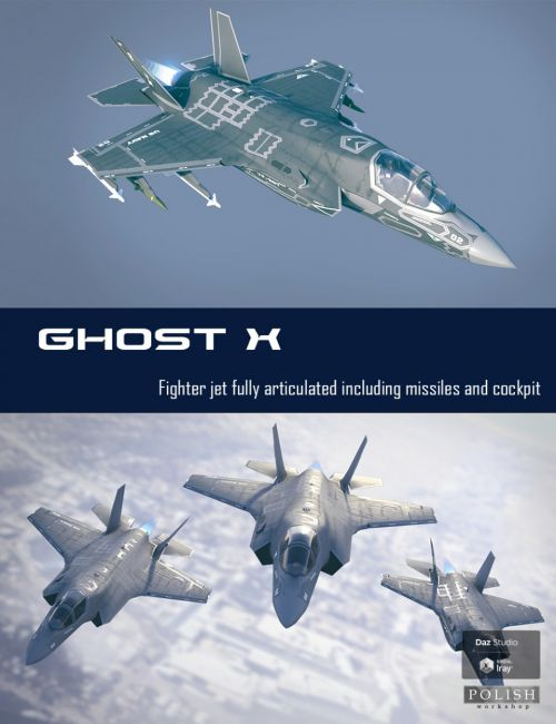 Ghost X Fighter Jet