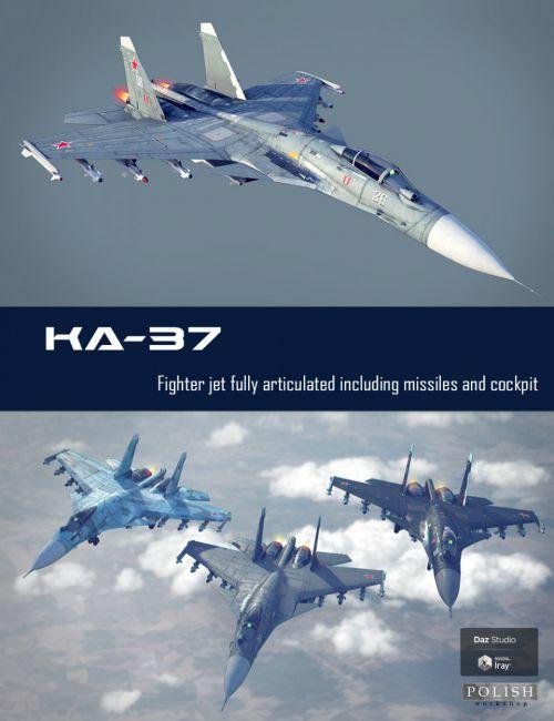 KA-37 Fighter Jet