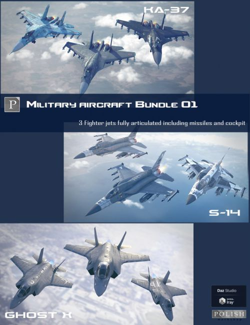 Military Aircraft Bundle 01