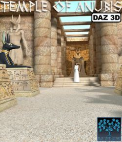 Temple of Anubis for Daz Studio