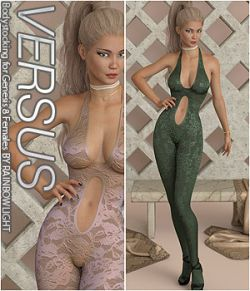 VERSUS - Bodystocking for Genesis 8 Females