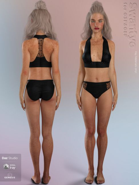Swantye for Genesis 3 & 8 Female