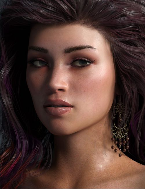 Erika HD & Brickhouse Beauty Morphs for Genesis 8 Female
