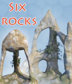 Six rocks