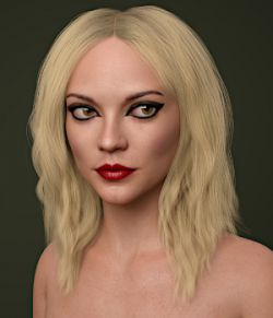 Eugenia Hair for Genesis 8 Females