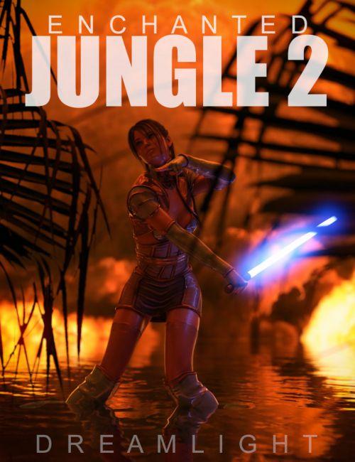 Enchanted Jungle Backgrounds 2