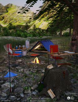 PW Happy Camping Outdoor Prop Set
