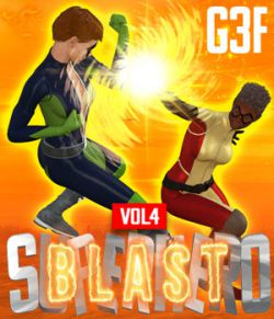 SuperHero Blast for G3F Volume 4