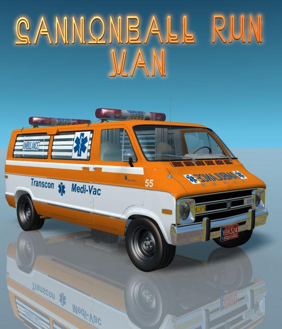 CANNONBALL RUN VAN  for Vue