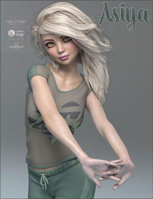 TDT-Asiya for Genesis 8 Female