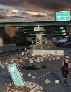 EArkham's ZWorld Broken Road II