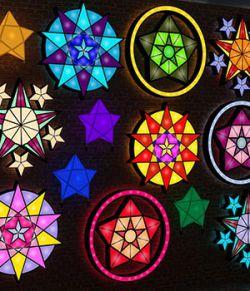 Iray Parol Lanterns For Daz Studio
