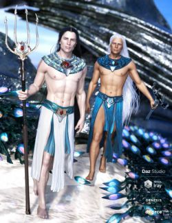 dForce Alascanus Outfit for Genesis 8 Male(s)