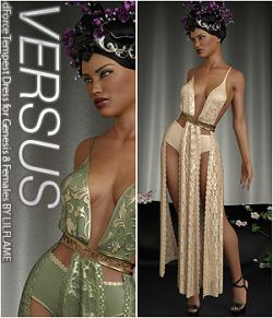 VERSUS - dForce Tempest Dress for Genesis 8 Females
