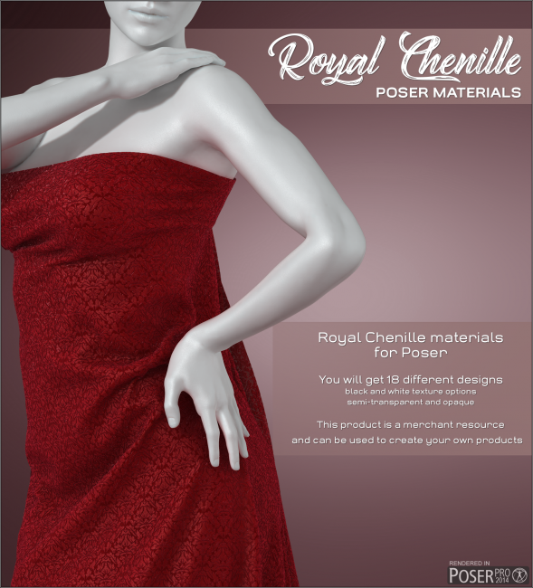 Poser - Royal Chenille
