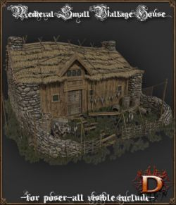Medieval Small Village House1