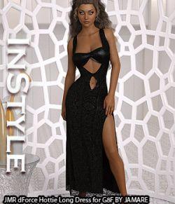 InStyle- JMR dForce Hottie Long Dress for G8F
