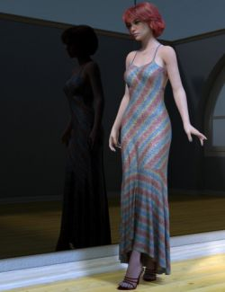 dForce Fanciful Shimmer Outfit Divergence Textures