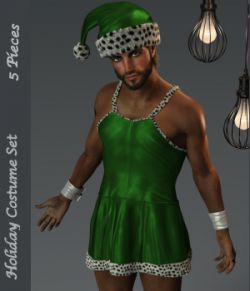 Holiday Dress for Genesis 8 Males