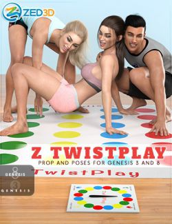 Z Twistplay - Prop and Poses for Genesis 3 and 8