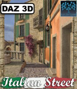 Italian Street for Daz Studio