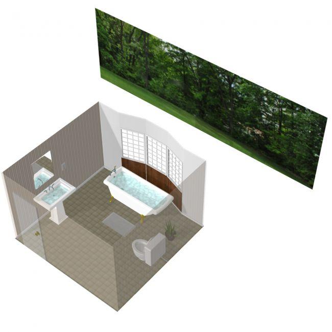 Comfortable Bathroom - for Poser