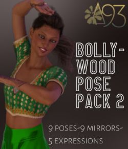 Bollywood Pose Pack 2