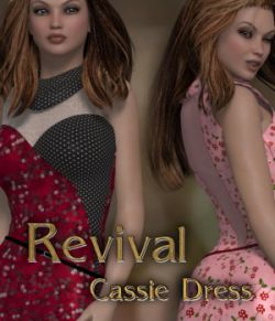 Revival for Cassie Dress V4_Poser