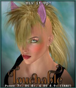 Touchable Pony Tail V4 M4 Poser