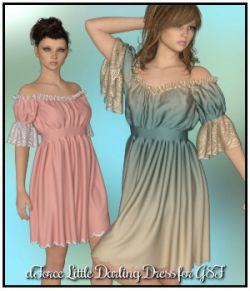 dForce- Little Darling Dress for G8F