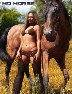HD Dark Knight for DAZ Horse 2