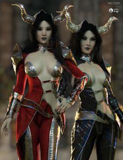 dForce Hellen Outfit Textures