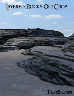 1stB Layered Rocks Outcrop