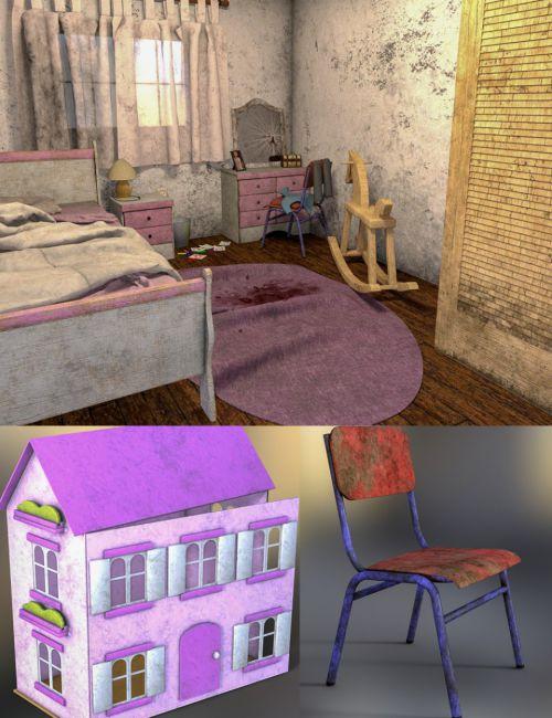 Creepy Children's Bedroom
