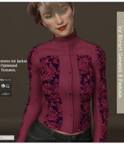 Preppy-chic for X-Fashion L&L Jacket for Genesis 8 Females